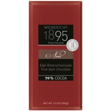 Шоколад темный Weinrichs 70% какао