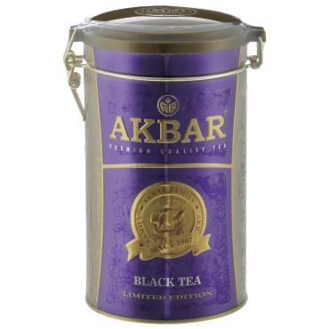 Чай Akbar 100 Years черный цейлонский крупнолистовой