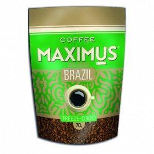 Кофе Maximus Brazil растворимый сублимированный 70 гр