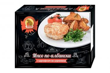 Мясо по-албански Государь с картофелем по-деревенски 300 гр.*10