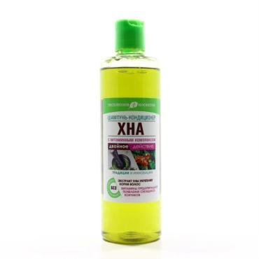 Шампунь-кондиционер для волос Эксклюзив Косметик Хна с витаминным комплексом