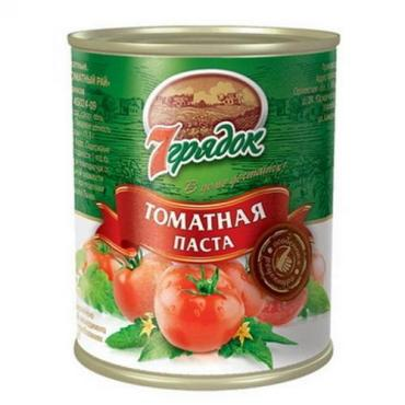 Томатная паста 7 Грядок,800 гр.,ж/б