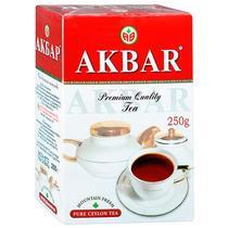 Чай черный Akbar Красный гранат Мелколистовой 250 гр