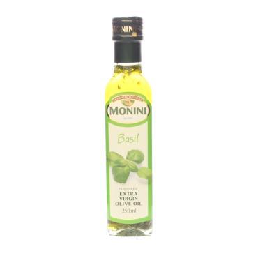 Масло оливковое Monini Extra Virgin с базиликом