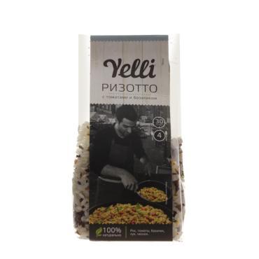 Ризотто Yelli Готовые рецепты С томатом и базиликом