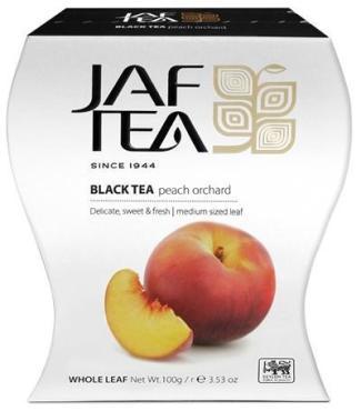 Чай JAF TEA Peach Orchard черный листовой, с ароматом персика 100 гр.