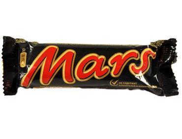 Батончик Mars Шоколадный