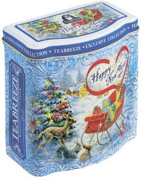 Чай Teabreeze Happy New Year Эрл Грей в подарочной банке