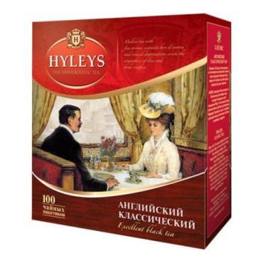 Чай Hyleys Английский классический 100 пак.