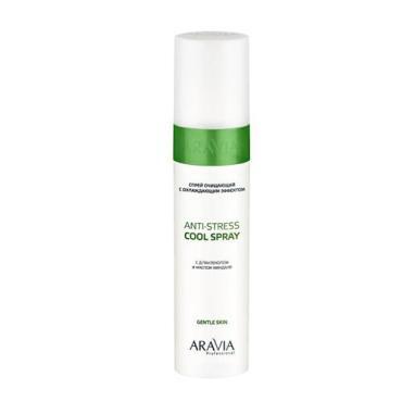 Спрей ARAVIA Professional Anti-Stress Cool Spray очищающий с охлаждающим эффектом с Д-пантенолом