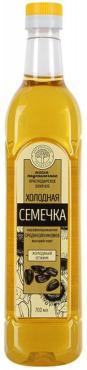 Масло подсолнечное нерафинированное Натуральные продукты Краснодарское элитное Холодная семечка, 700 мл., пластиковая бутылка
