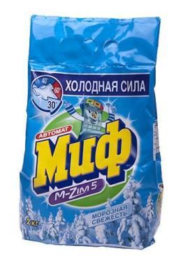 Стиральный порошок Миф Морозная свежесть автомат для белого белья