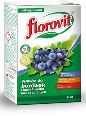 Удобрение гранулированное Florovit Для кислотолюбивых растений