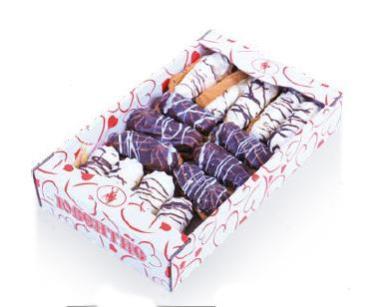 Печенье Ювентис Эклерки сахарное фигурное