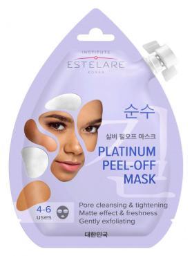 Маска-пленка для лица Платиновая, Матирующая, Estelare, 20 мл., Пластиковая упаковка