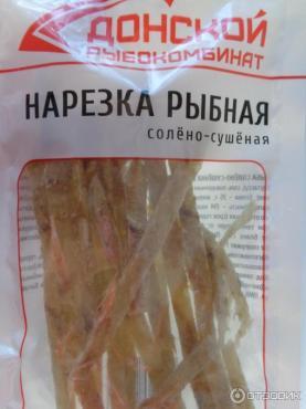 Минтай нарезка солено-сушеная, Рыбокомбинат Донской, 1 кг., флоу-пак