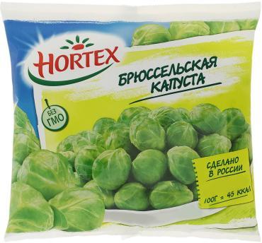 Капуста брюсельская Hortex, 400 гр.*14