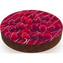 Пирог Тирольский Малина-шоколад бисквитный постный