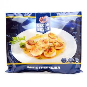 Морской гребешок Океан вкуса филе 21/25 замороженное