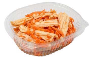 Спаржа с морковью по-корейски