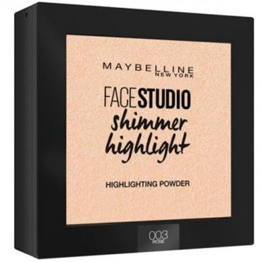 Пудра-хайлайтер для лица 003 перламутр Maybelline Face Studio, 40 гр., Пластиковая бутылка