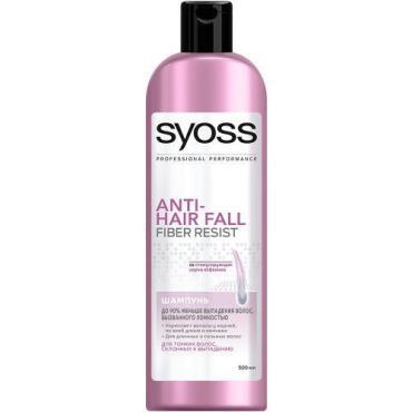 Шампунь Syoss Anti-Hair Fall для тонких волос