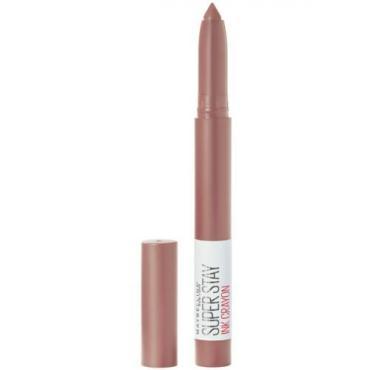 Помада-стик для губ оттенок 10 Maybelline New York Superstay Matte Ink Crayon 15 гр., Пластиковая упаковка