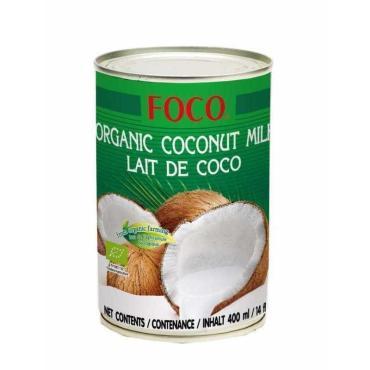 Молоко кокосовое Foco органическое 10-12%, 0,4л
