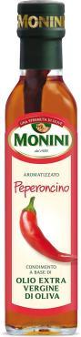 Масло с красным перцем оливковое, Monini Extra Virgin, 250 мл., стекло