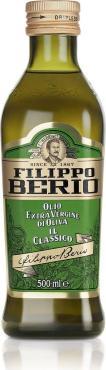 Масло оливковое, нерафинированное, Filippo Berio Extra Virgin, 500 мл., стекло
