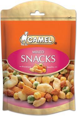 Смесь из различных орехов,бобов, Camel, горошка Mixed snacks, Camel, 150 гр., ПЭТ