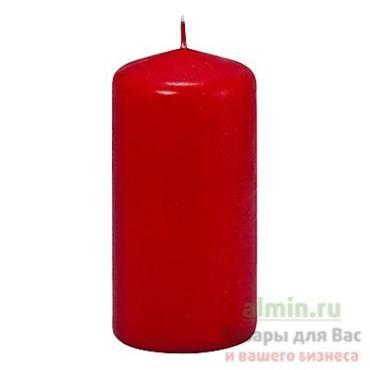 Свеча столбик 50х100 см., красный Papstar