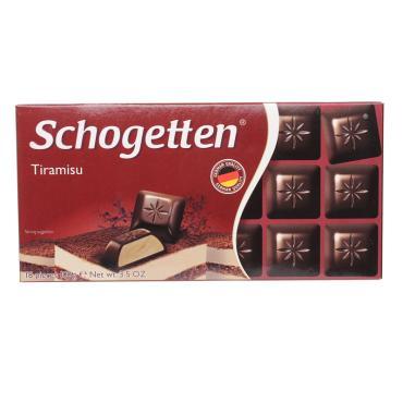 Шоколад Schogetten тирамису