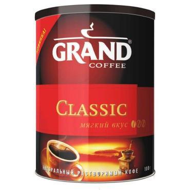 Кофе Grand растворимый