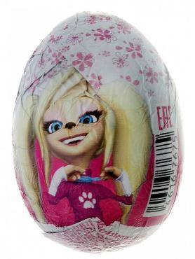 Шоколадное яйцо Барбоскины с игрушкой