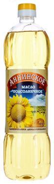 Масло подсолнечное Аннинское рафинированное