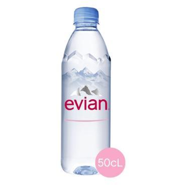 Вода Evian минеральная негазированная ,500 мл.,ПЭТ