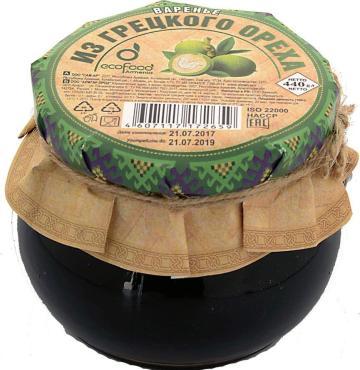 Варенье Ecofood из грецкого ореха