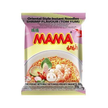 Лапша тайская Mama со вкусом Том Ям быстрого приготовления