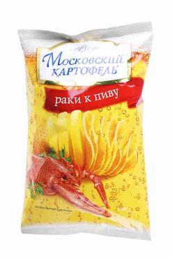 Чипсы Московский картофель Раки к пиву