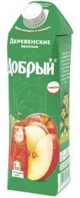 Нектар Добрый Деревенские яблочки 1 л.