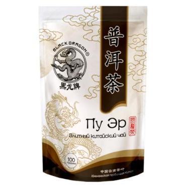 Чай Черный Дракон Пу Эр Элитный Китайский