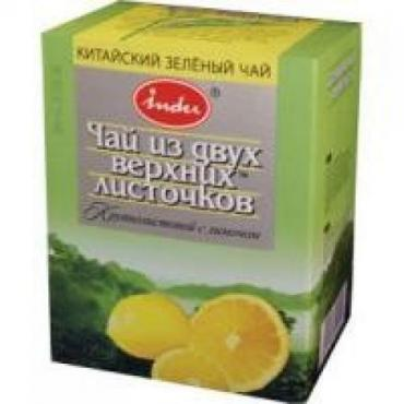 Чай Indu зеленый с лимоном
