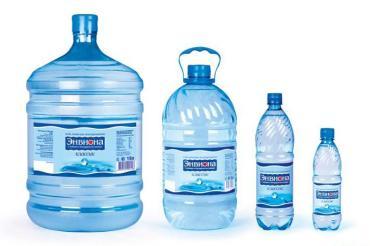 Вода питьевая Энвиона Классик, 19 л., Пластиковая бутылка