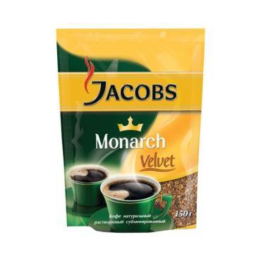 Кофе Jacobs Monarch Velvet растворимый