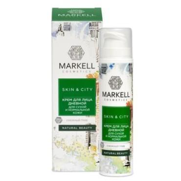 Крем для лица Markell Skin&City Снежный гриб для сухой и нормальной кожи Дневной