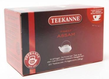 Чай Teekanne Черный Ассам чёрный 20 пак