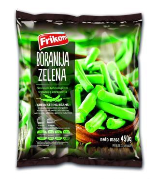 Зеленая фасоль Frikom замороженная