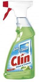 Средство Clin для мытья окон и зеркал Яблоко 500мл