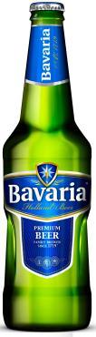 Пиво Bavaria Premium Pilsner светлое пастеризованное фильтрованное в стекле 4,9%, 450мл